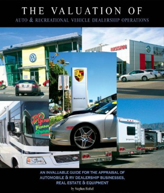 The Valuation of Auto & Recreational Vehicle Dealership Operations